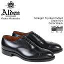 ALDEN オールデン ストレートチップ シューズ STRAIGHT TIP BAL OXFORD Dワイズ 901 メンズ [7/3 追加入荷]