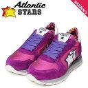 アトランティックスターズ レディース スニーカー Atlantic STARS ジェマ GEMMA CFG-63VI 靴 ピンク パープル