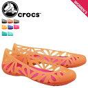 クロックス crocs レディース サンダル パンプス アドリナ ADRINA 3 FLAT 14936 海外正規品 あす楽 [s20]