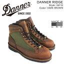 ダナー ブーツ Danner DANNER RIDGE MADE IN USA メンズ ブラウン