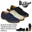 ドクターマーチン Dr.Martens 3ホール シューズ DELRAY 3EYE SHOE R16512001 R16512270 R16512410 メンズ