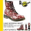 送料無料 ドクターマーチン Dr.Martens 1460 レディース 8ホール ブーツ WOMENS 8 EYE BOOT レザー メンズ R11821614 チェリーレッド [3/28 新入荷][ 正規 あす楽 ]