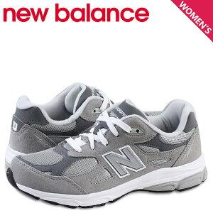 ニューバランスnewbalanceキッズレディーススニーカーKJ990GRGMワイズ靴グレーあす楽