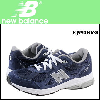 New balance new balance KJ990NVG kids women's sneakers M wise suede / mesh suede