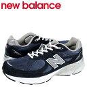 ニューバランス new balance 990 M990 NV3 MADE IN USA スニーカー M990NV3 Dワイズ メンズ 靴 ネイビー あす楽