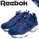 リーボック ポンプフューリー スニーカー Reebok INSTAPUMP FURY HK メンズ レディース AR2533 靴 ブルー