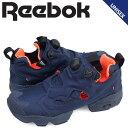 リーボック ポンプフューリー スニーカー Reebok INSTA PUMP FURY TECH メンズ レディース V63499 靴 ネイビー [一部予約商品 6/29頃入荷予定 追加入荷]