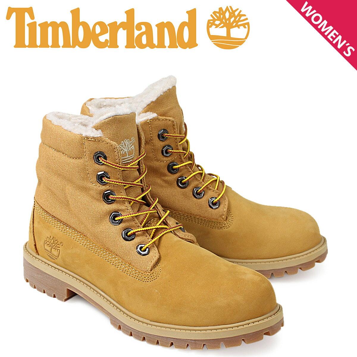 Timberland ティンバーランド レディース ロールトップ ブーツ  ROLLTOP BOOTS  43959 Mワイズ 防水  ウィート あす楽 [10/28 新入荷]
