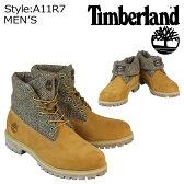 ティンバーランド Timberland ICON ROLL-TOP HARRIS TWEED FABRIC ブーツ アイコン ロールトップ ハリスツイード A11R7 ウィート メンズ あす楽