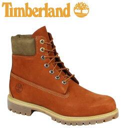 ティンバーランド 6インチ メンズ Timberland ブーツ プレミアム 6-INCH PREMIUM WATERPROOF BOOTS A17YC Wワイズ 防水 オレンジ