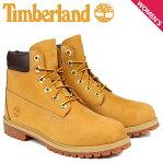 ティンバーランド レディース ブーツ 6インチ Timberland JUNIOR 6INCH PREMIUM WATERPROOF BOOTS 12909 プ...