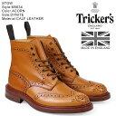 トリッカーズ Tricker's カントリーブーツ STOW M5634 5ワイズ メンズ ライトブラウン