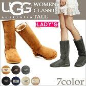 UGG アグ クラシック トール ムートンブーツ WOMENS CLASSIC TALL 5815 シープスキン レディース あす楽