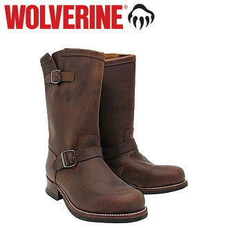 Wolverine WOLVERINE 1000 mile 10 inch Engineer Boots W05143 1000 MILE 10 inch ENGINEER BOOT leather men's Wolverine