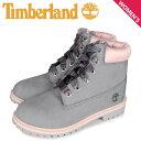 ショッピングティンバーランド ティンバーランド Timberland ブーツ 6インチ プレミアム ウォータープルーフ レディース JUNIOR 6INCH PREMIUM WP BOOT グレー A41TG