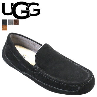 UGG UGG Alder slip-on Shearling Sheepskin ALDER men's 2014 SPRING new 1003419 black [genuine]