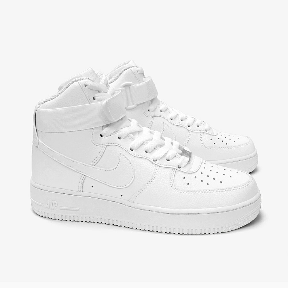 nike air force 1 all white high