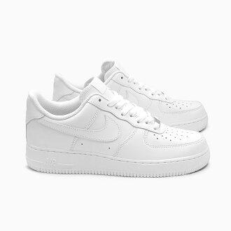 NIKE AIR FORCE 1 LOW 07年315122-111 WHITE/WHITE耐吉空軍1低切人分歧D運動鞋空軍白低全部白白