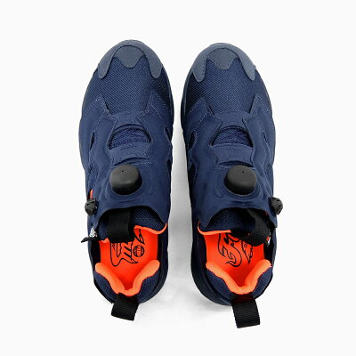 REEBOKINSTAPUMPFURYTECH[V63499NAVY/ORANGE]�꡼�ܥå����󥹥��ݥ�ץե塼�꡼�ƥå��ͥ��ӡ�/����󥸺�/��MEN'SWOMEN'SUNISEX