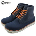 20%OFF [S][D]crocs クロックス crocs cobbler 2.0 boot m クロックス コブラー 2.0 ブーツ メン ネイビー/スタッコ 16106-46K