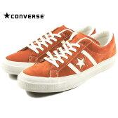 コンバース CONVERSE STAR & BARS SUEDE スター&バーズ スエード オレンジ/ホワイト 1CK137