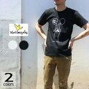 マークゴンザレス Mark Gonzales Tシャツ ヘビー ティー HEAVY TEE ホワイト ブラック 19S-HVT06 ピース[WA]【FNOJ】