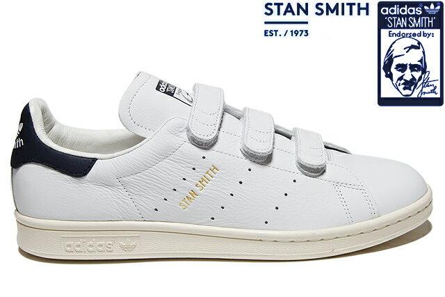 adidas Originals STAN SMITH CF AQ3192 RUNNING WHITE/COLLEGE NAVY/RUNNING WHITEアディダス オリジナルス スタンスミス コンフォート ホワイト ネイビー メンズ レディース ベルクロ スニーカー