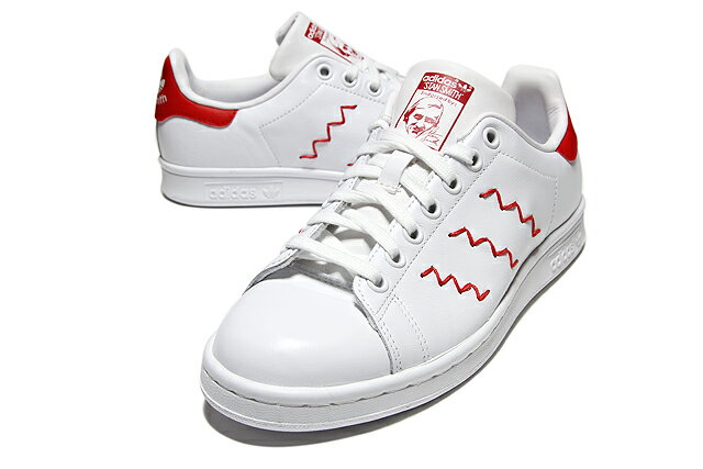 Adidas Stan Smith Red Zig Zag