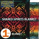 PENDLETON「SHARED SPIRITS」 BLANKET BLACK ZL494ペンドルトン シェアードスピリッツ ブランケット ブラック【あす楽対応】