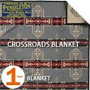 PENDLETON「CROSSROADS COLLECTION」 BLANKET GRAY ZD447ペンドルトン クロスロード コレクション ブランケット グレー【あす楽対応】