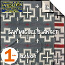 PENDLETON「SAN MIGUEL COLLECTION」 BLANKET CHARCOAL ZD405ペンドルトン サン ミゲル コレクション ブランケット チャコール グレー【あす楽対応】