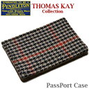 PENDLETON 「Thomas kay Collection」 PassPort Case GZ912 Horween Chromexcel Cowhide Leatherペンドルトン パスポート ケース カバー ホーウィーン クロムエクセル レザー ブラウン