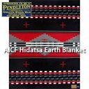 PENDLETON AICF CURTIS HIDATSA BLANKET ZE788-50474ペンドルトン ブラック レッド ブランケット ベッドカバー ソファーカバー WSAP