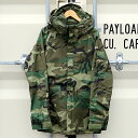 「90s DEADSTOCK U.S.ARMY ECWCS GORE-TEX PARKA GEN1 WOODLAND」SMALL-LONG VINTAGE COLD WEATHER PARKA90年製 デッドストック ゴアテックス ウッドランド カモ ジャケット グリーン ALPHA社 アメリカ軍 米軍 メンズ アウター アウトドア