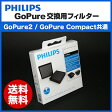 < GoPure2 / GoPure-Compact 共通交換用フィルター > 車 車載用 空気清浄機 フィリップス philips 【コンパクト PM2.5 除去 / 対策 / 花粉 / 花粉症】