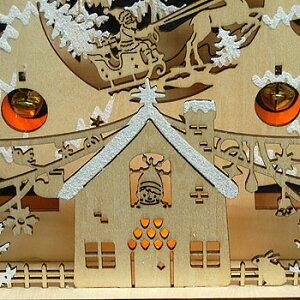 【クリスマス雑貨】ウッドツリーライト LED仕様 (送料別)