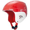 ★ALPINA〔アルピナ ジュニア スキーヘルメット〕CARAT〔レッド/ターンズ〕〔カラット〕〔z〕
