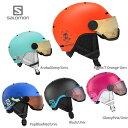 ヘルメット SALOMON サロモン ジュニア 子供用 2022 GROM VISOR 21-22 NEWモデル スキー スノーボード