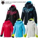 デサント スキーウェア レディース ジャケット DESCENTE 19-20 LADIES 039 S.I.O JACKET 60 MOVE SPORT / DWWOJK81 2020 旧モデル