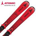 アトミック ジュニア スキー板 ビンディング セット ATOMIC 20-21 REDSTER MH 100-120 + C 5 GW 取付無料 2021 NEWモデル