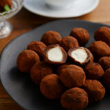 生チョコトリュフ500g ホワイトデー/生チョコ/チョコレート/クリームチーズ/義理チョコ/ギフト/お返し/プチギフト