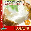 北海道とろとろシュー6個セット(ミルク) シュークリーム/シューアイス/ギフト/贈答