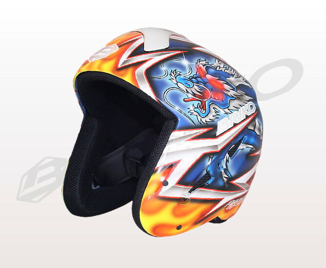 ★ normally in flight (courier) ★ graphic design paint アズメリープレゼンツ a design theme Dragon BRIKO 013140P RYU brico mens & ladies helmets original paint (Yong) 02P28oct13's