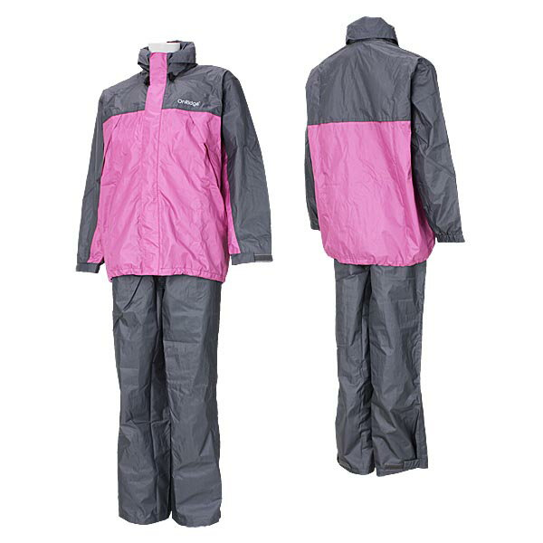 ONYONE (onion) OnRidge ジュニアレイン suit junior boys & girls OGS74002 952006 (pink and gray) 02P28oct13