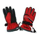ONYONE(オンヨネ) ボーイズ スキー グローブ ジュニア 子供用 手袋 REA75101 056(RED)