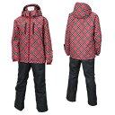 オンヨネ Rush Air レディース スキーウェア RUS86011 056P009(RED/BLACK)