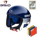 ★普通便で送料無料★BRIKO VULCANO ボルケーノ FIS6.8 レーシング スキーヘルメット 2017-2018w メンズ レディース 2000020 902(ブルースカイxホワイトアッシュ)