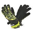 MOBUS(モーブス) 大人用スキーグローブ ボードグローブ 手袋 GWDB-356AD KHAKI(カーキ)