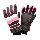 日栄産業(ニチエイサンギョウ) ジュニア スキーグローブ ボードグローブ 手袋 SP-042 PINK(ピンク)