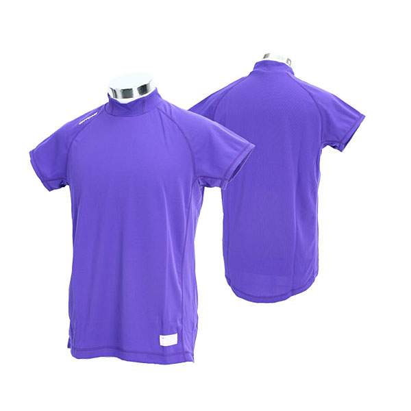 Durable distinguished shoulder sleeve ONYONE baseball gear OKA96401 856N On Yo Ne men training suit high gray termiddle neck shoulder sleeve (the )02P30Nov13 which there is a purple (name in)
